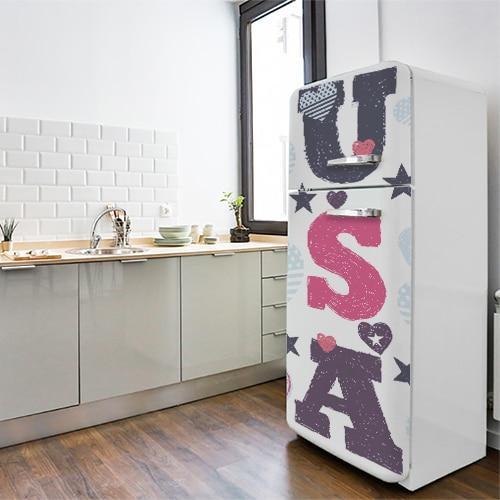 Stickers adhésif pour électroménager USA