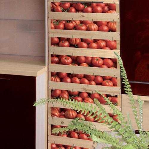 Stickers pour cuisine cagettes de tomates adhésifs