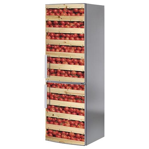 Stickers cagettes de tomates adhésifs pour frigo