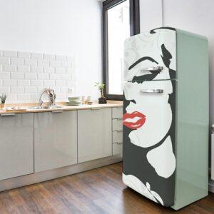 Stickers Marilyn adhésifs pour frigo