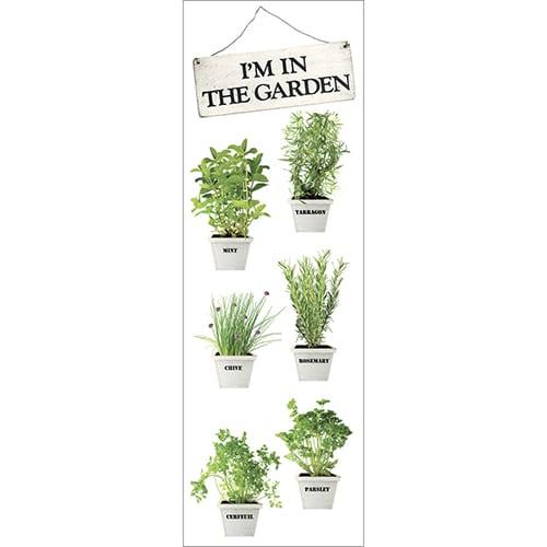 Stickers autocollants Herbes pour frigo