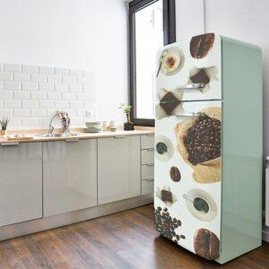 Stickers autocollants pour électroménager Café et chocolat