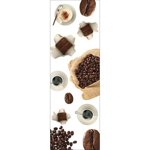 Stickers déco pour électroménager Café