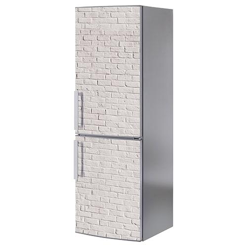 Stickers adhésifs pour électroménager Briques Blanches