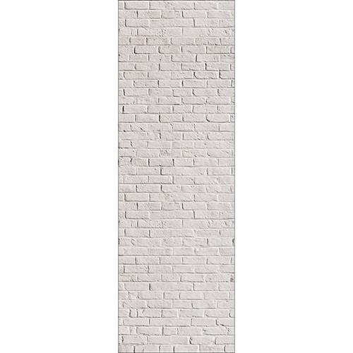 Stickers autocollants pour frigo Briques blanches