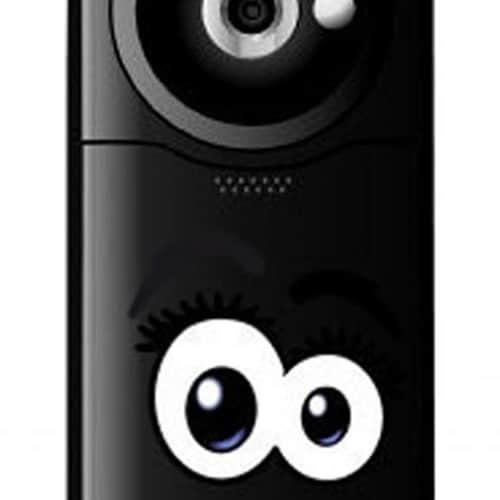 Mini stickers adhésifs yeux de BD à coller sur des enceintes