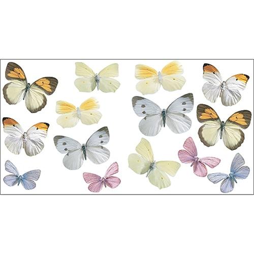 Stickers adhésifs papillons