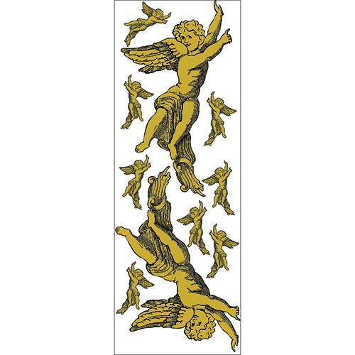 Sticker Planche avec Anges de petites et grandes tailles