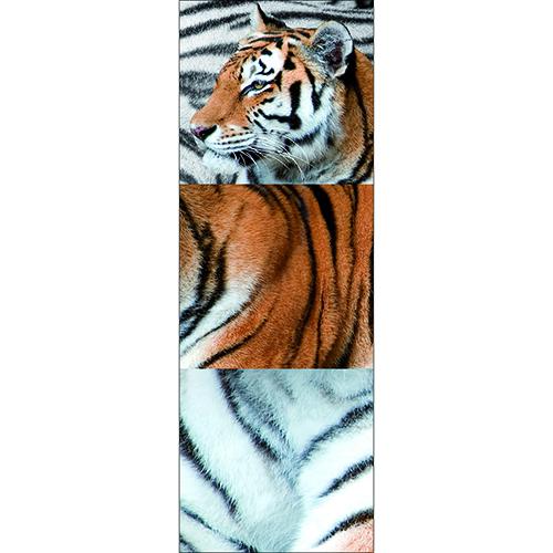 Sticker d'un grand tigre en trois partie