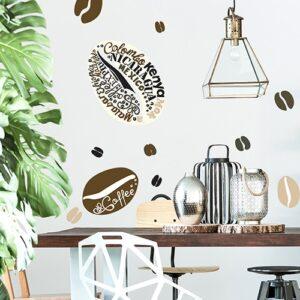 Sticker café Arabica - Pause Café mis en salle à mangé