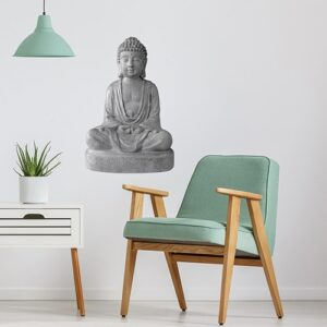 Sticker Statue de Bouddha dans un salon