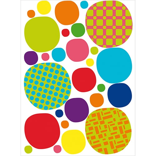Stickers de couleurs à coller pour les enfants
