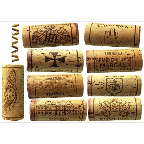 Autocollants de bouchons de bouteilles de vin