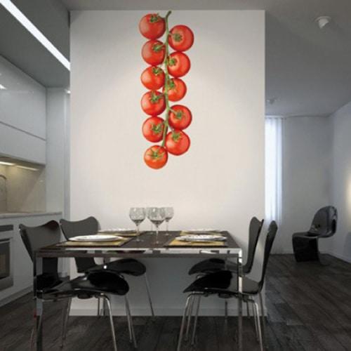 Autocollant mural géant Tomates