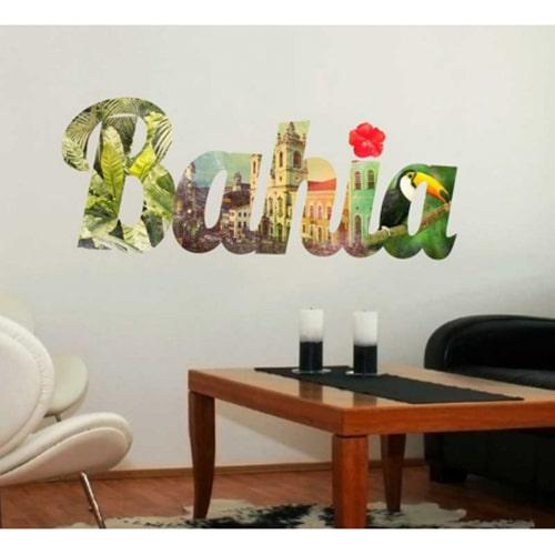 Autocollant mural lettres