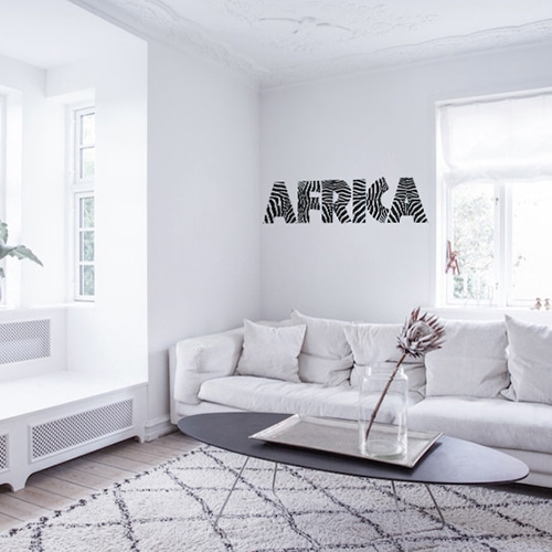 stickers autocollants africa d coration int rieure urban jungle. Black Bedroom Furniture Sets. Home Design Ideas