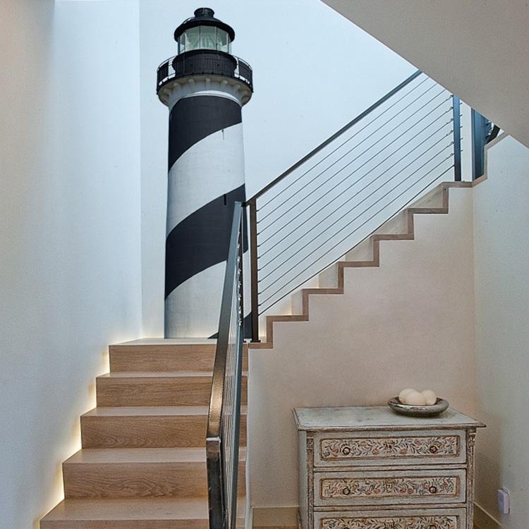 Sticker Cap COD Noir pour déco escalier