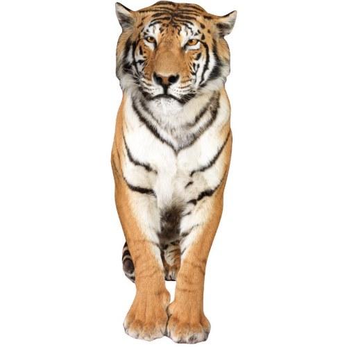 Décoration adhésive murale géante tigre