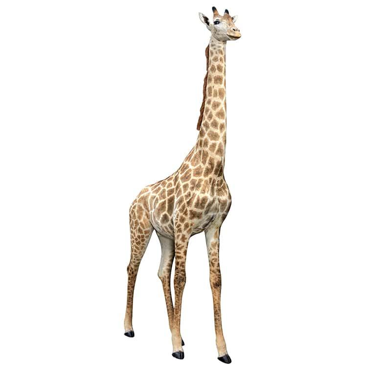 Sticker adhésif mural Girafe
