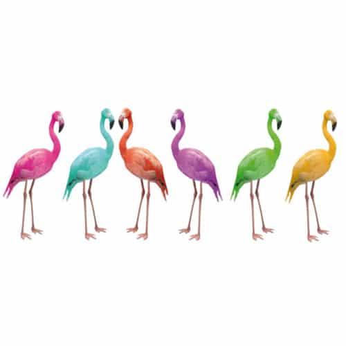 Stickers muraux Flamingo pour décoration intérieur