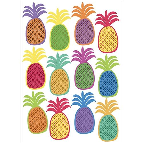 Sticker de dessins d'ananas à coller au mur