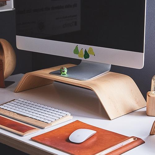 Mini sticker Poires coller sur un ordinateur