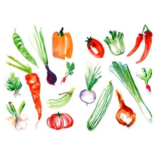 Stickers muraux Légumes du marché
