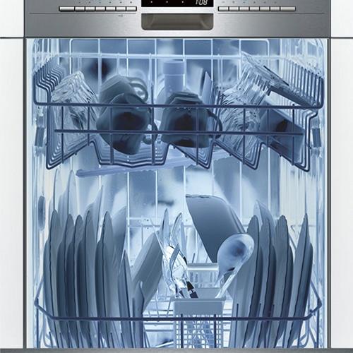 Stickers adhésif lave-vaisselle rayon X