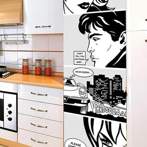 Nos stickers autocollants pour frigo Grande BD