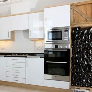 Sticker adhésif bouteilles de vins frigo