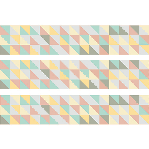 Sticker autocollant Scandinave Pastel