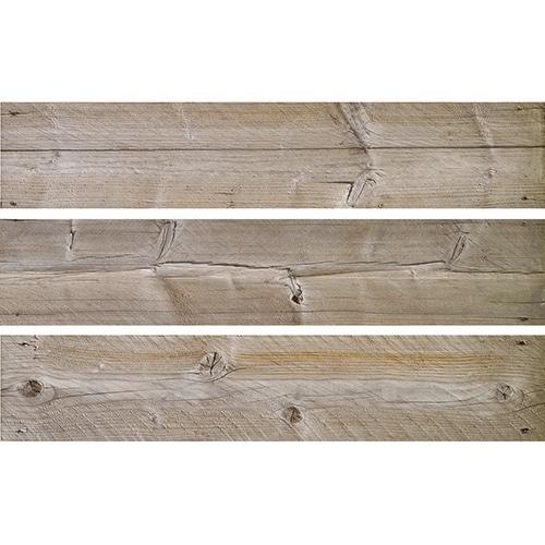 Sticker Bois pour contremarches d'escalier en bois gris