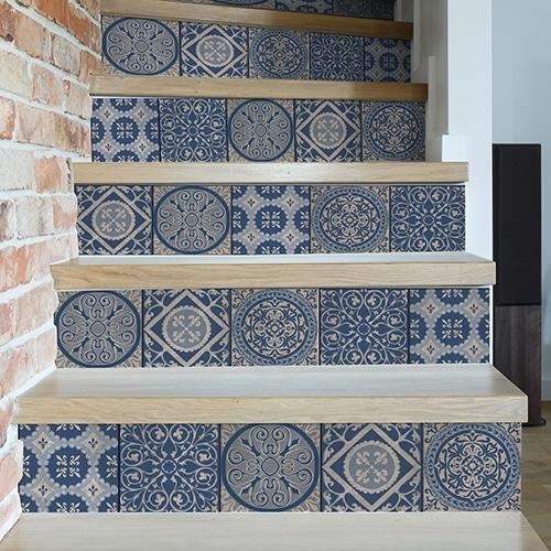 Sticker Patras pour escalier