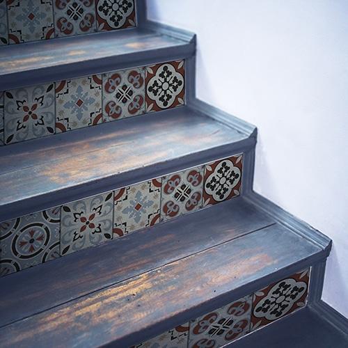 Un sticker décoratif Ozzano pour un escalier authentique !