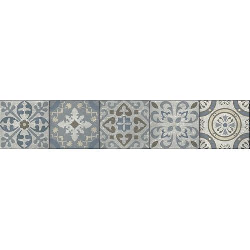 Autocollant stickers pour contremarche style borgatella contre mur briques