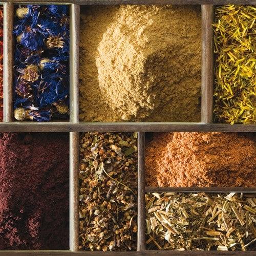 Ce sticker pour décoration de carrelage est parfait pour personnaliser la déco de votre cuisine avec des épices.