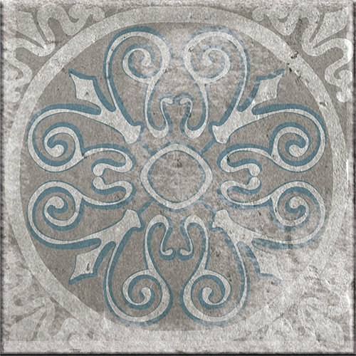 Sticker imitation Carrelage Marvao gris