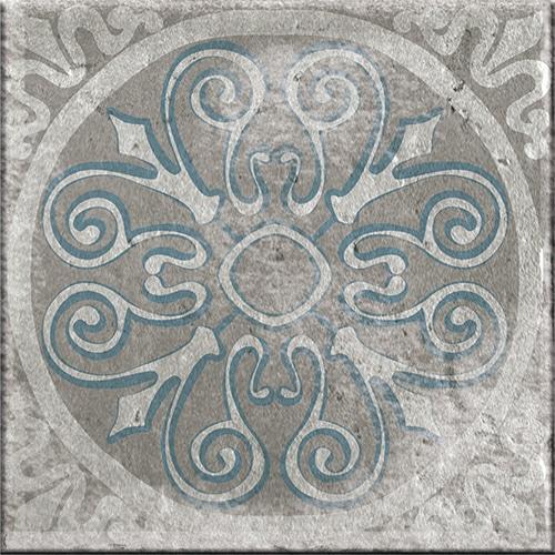 Sticker imitation Carrelage Marvao gris
