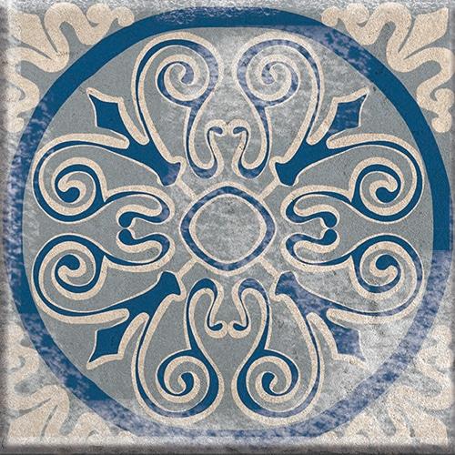 Sticker effet Carrelage Antico Açores