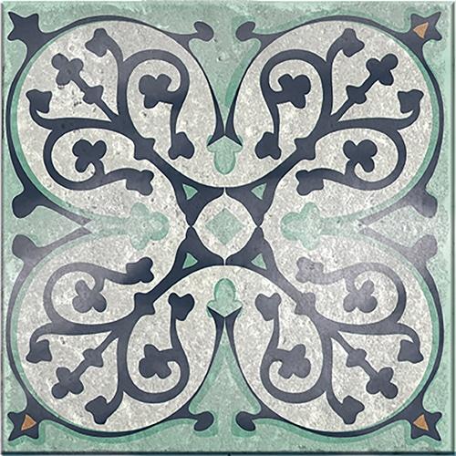 Sticker adhésif Carrelage Antico Evora bleu et gris