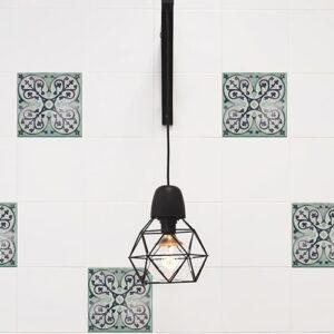 Sticker adhésif Carrelage Antico Evora avec lampe design