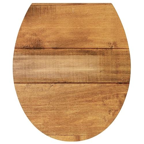 Optez pour l'authenticité avec nos stickers pour WC Planche de Bois !