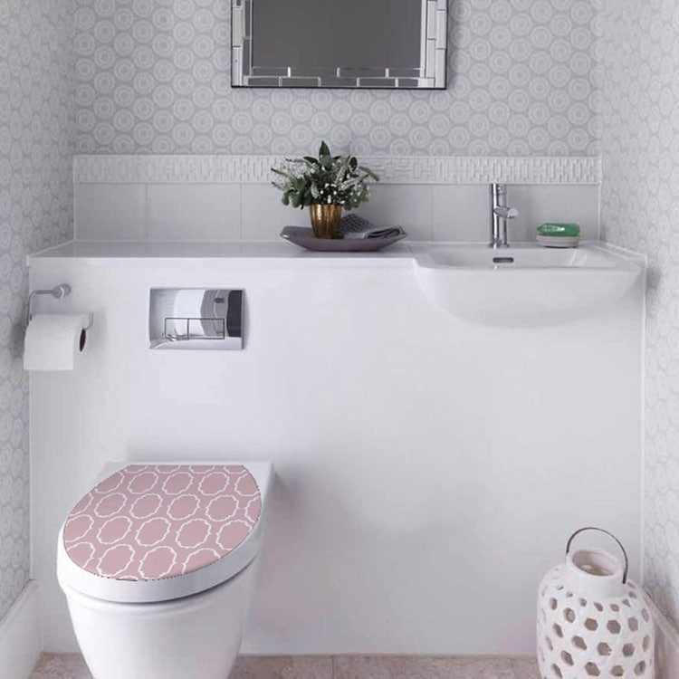 Stickers Baroque pour une décoration tendance de vos WC