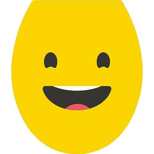 Sticker autocollant Smiley heureux