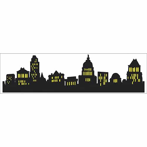 Sticker adhésif Buildings