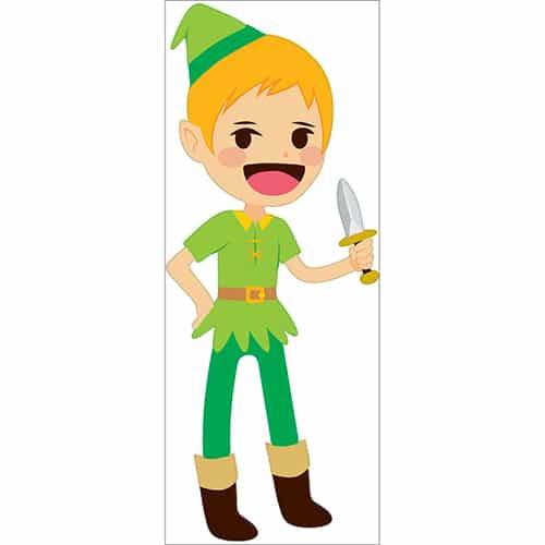 Sticker mural Peter Pan pour enfants