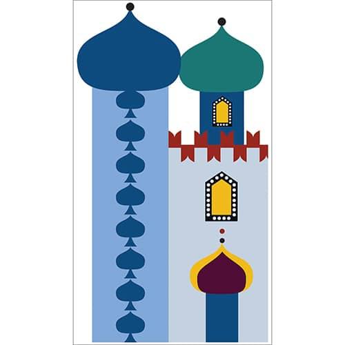 Sticker Temple pour enfants