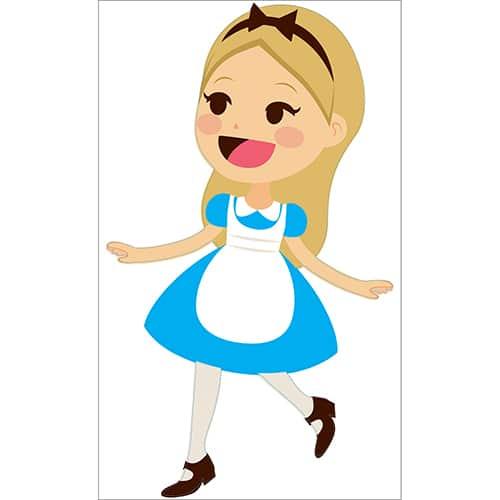 Sticker Alice pour enfants
