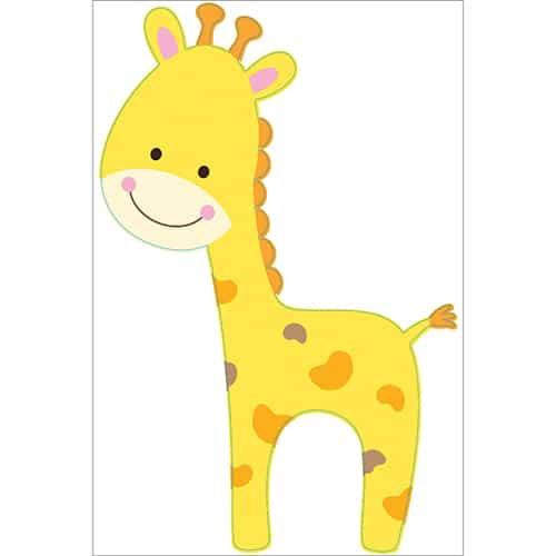 Sticker girafon pour enfants