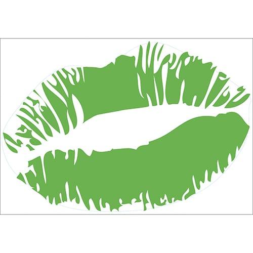 Sticker Baiser Vert